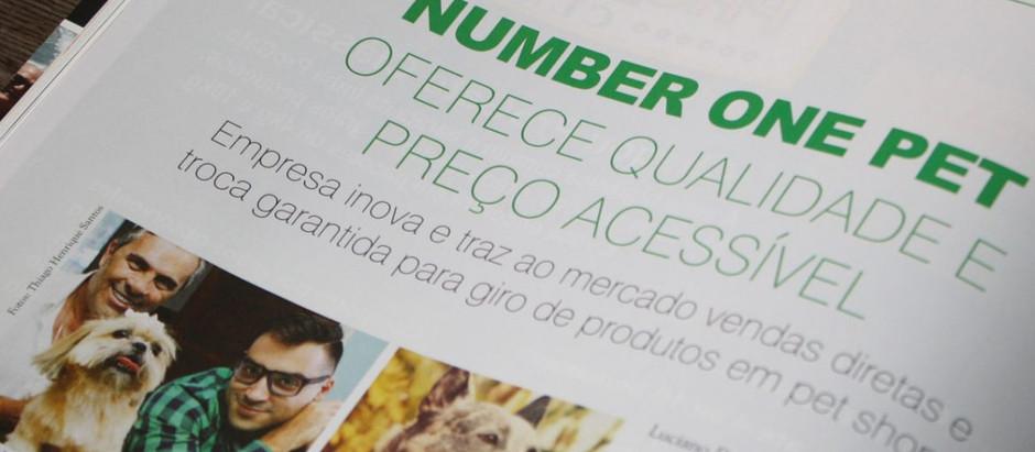 Matéria sobre nós na edição de abril da revista Petcenter