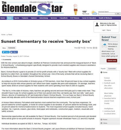 The Glendale Star