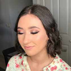 Gorgeous _luci.pezzi ready for her formal on Friday night! Had so much fun creating this glam look f