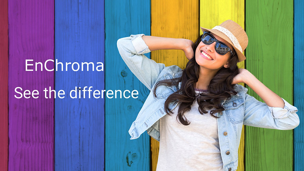 Enchroma See the difference