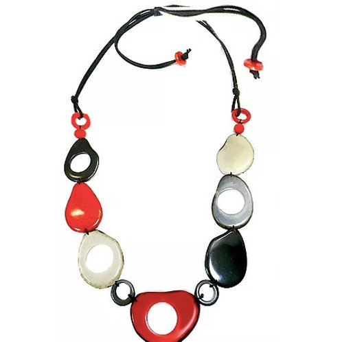 Pebbles Black Red
