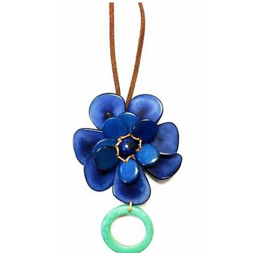 Flor Navy Blue