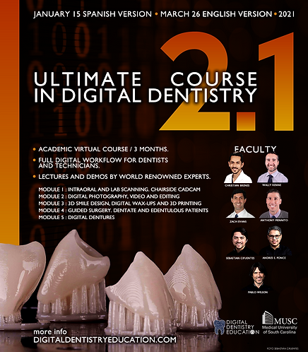 Digital Course 2.1- In English (3 months) May 2021