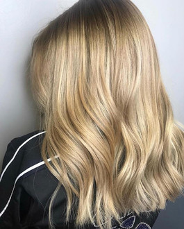 Blondes have more funny by Arianna _killamanes_ #lovemysalon #longislandhairsalon #colordoneright #serenityhairsalon #balayage #blondehair #