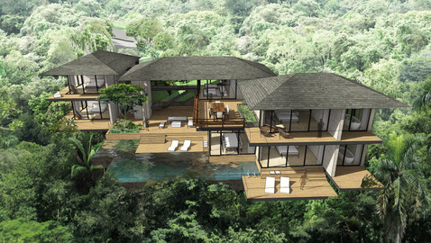 Forest Pavilions Resort | Universal Architecture