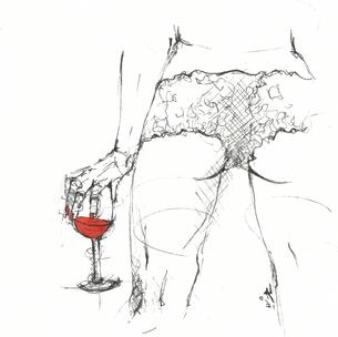 """""""Rote Blätter Rot der Wein Rot die Sonne Rot der Schein Rot die Liebe  Rot die Glut Ach wie angenehm dies tut."""" (Gerhard Ledwina)"""