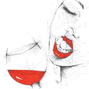 """""""Nach den Tränen stellt im Leben sich auch oft das Lachen ein; Tränen haben auch die Reben, aber trotz der Tränen geben sie den lust'gen, goldnen Wein.""""  (Justinus Kerner)"""