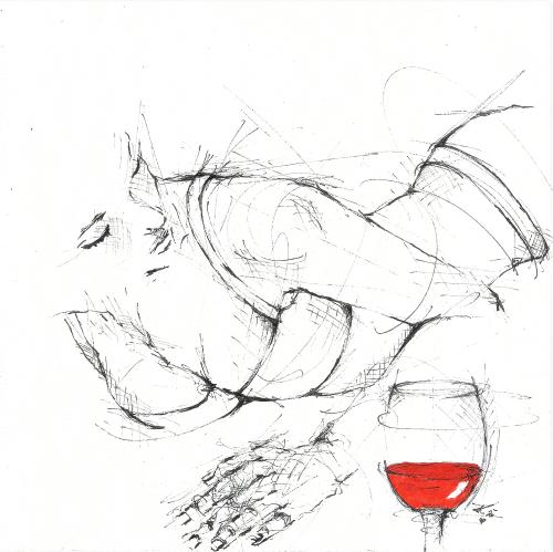 """""""Man führt gegen den Wein nur die bösen Taten an, zu denen er verleitet, allein er verleitet auch zu hundert guten, die nicht so bekannt werden."""" (Georg Christoph Lichtenberg)"""
