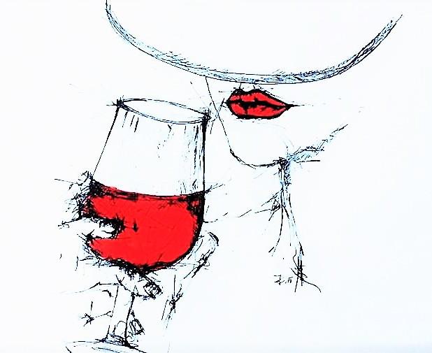 """""""Die Guten seh'n im Wein nur edle Tugend, Die Bösen nur Verbrechen, Trug und List. Wein ist der Spiegel unsres bunten Lebens: Man sieht im Weine, was man selber ist."""" (Omar Chajjâm)"""