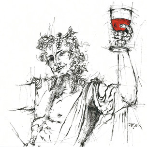 """Dionysos - ein Gott mit vielen Gesichtern erzählt von der größten Sehnsucht des Menschen. Sich aus seinem tiefsten Inneren heraus in Ekstase zu etwas ganz anderem, erhabenen, Großen zu wandeln.   Dionysos ist der Gott des Weines, der Frauen und des Theaters, bekannt für seine ausschweifenden Feste und Orgien.   Der Dichter Friedrich Nietzsche sendet Urlaubsgrüße aus Turin: """"Es ist ein Vorurteil, dass ich ein Mensch bin. Ich bin der Gekreuzigte. Ich bin Dionysos. Unerbittlich befinde ich mich im Kampf gegen ... gegen alles und werte weiter die euch heiligen Werte um.   Eure allzu menschliche Moral zer- und verstoße ich. Verzeiht, wenn ich mich vehement an euch wende, ihr seid ja noch jung... Tut es nicht als Dekadenz ab, wenn ich euch das große Fest des Daseins verkünde.   Ihr sollt Dichter eures Lebens, zum Sinn der Kultur, zum Übermenschen in der ewigen Wiederkunft der Ereignisse werden, damit ihr nicht zu den Bestien des Banalen stürzt. Erhebt und überwindet euch. Erschafft Neues aus verbrannter Erde.   Vergesst niemals, dass Gott tot ist, doch unsere Irrtümer ihn immer neu erschaffen können. Die größte Kunst des Menschen ist, sich selbst zu täuschen und zu verzaubern. Nun seid frei von Ressentiment und tanzt zu den Dionysien, die ich für euch veranstalte.  Euer Friedrich"""