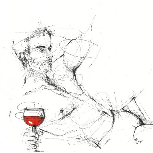 """""""Sitz ich allein, Wo kann ich besser sein? Meinen Wein Trink ich allein, Niemand setzt mir Schranken, Ich hab so meine eignen Gedanken.""""  (Johann Wolfgang von Goethe)"""