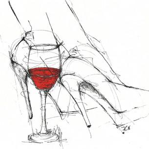 """""""Wer trinkt, soll reinen Herzens sein, mit Wein ist nicht zu scherzen."""" (Friedrich Rückert)"""