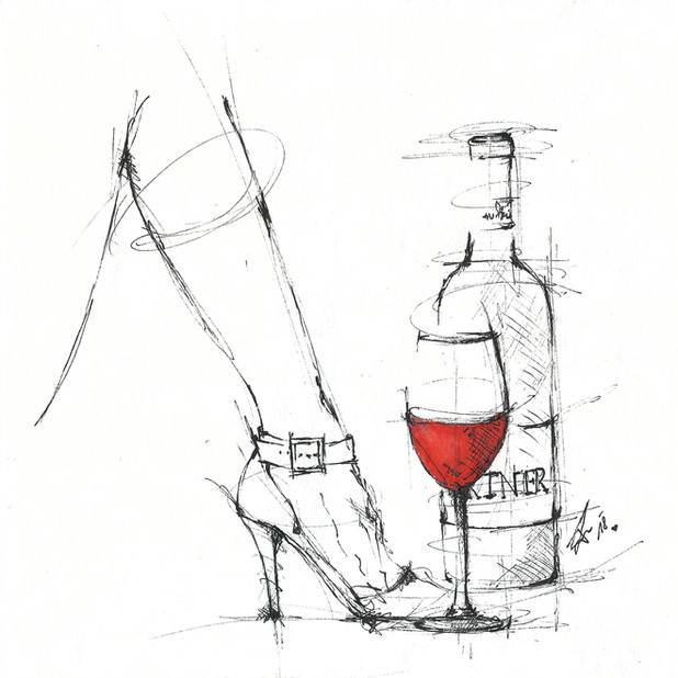 """""""Rotwein ist für alte Knaben, eine von den besten Gaben."""" (Wilhelm Busch)"""