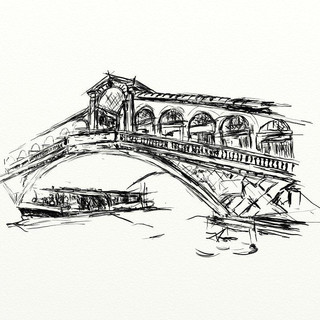 Rialto Bridge, Venedig