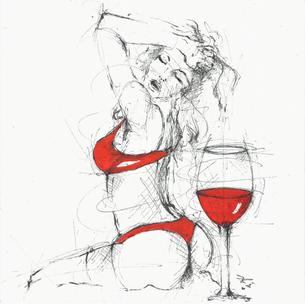 """""""Zwei süße Gifte hat des Menschen Leid: Eins ist ein guter Wein, das andere ein schönes Weib."""" Aus Rumänien"""