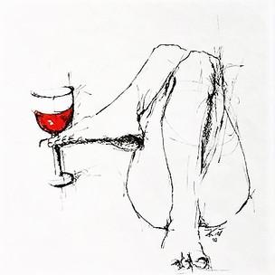 """""""Der Wein ist ein vortrefflich Ding, Die Weiber achten's leider zu gering. Und haben's nicht bedacht. Er stärket den Mut, Bewegt das Herz in frischer Glut. Er stärket den Mut, Bewegt das Herz, Bei Tage und bei Nacht!"""" (Wilhelm Busch)"""