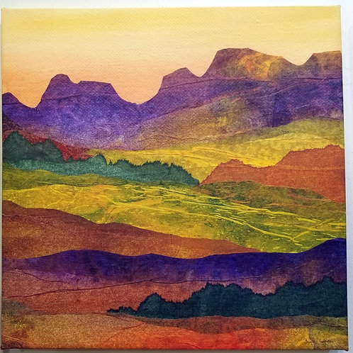 """Arizona Landscape""(3) Archival Giclee on Canvas"