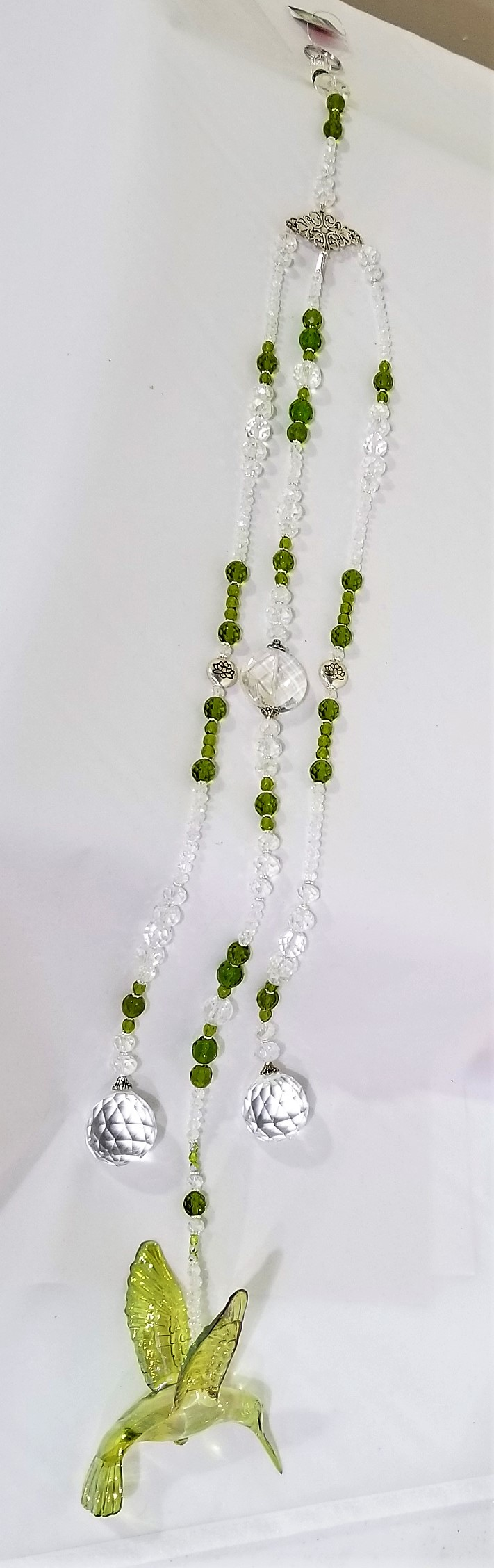 Green Crystal Suncatcher, by Enchanted Creations