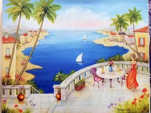 """Mediterranean Mood"" Giclee"