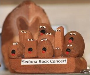 Sedona Rock Concert from Crystal