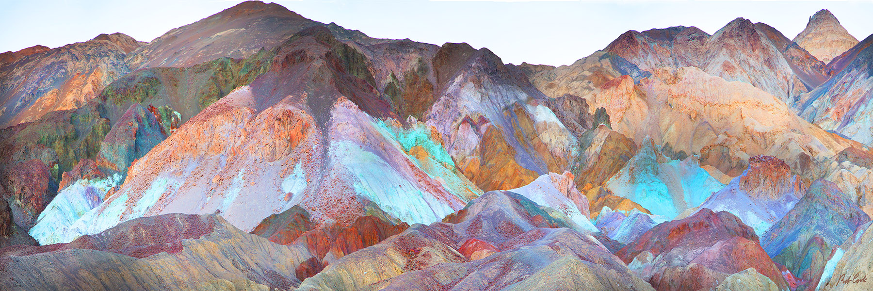 Death Valley Artist Drive Giclee by Bob Cook