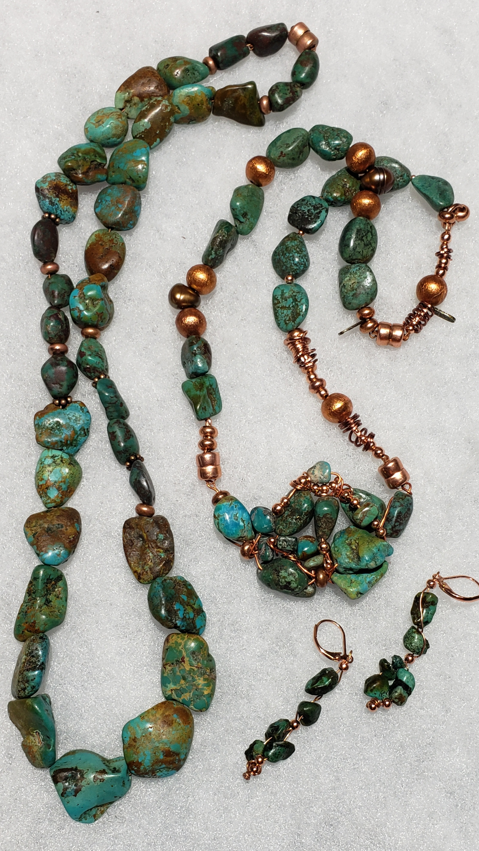 Turquoise Set, by Mark Kempster