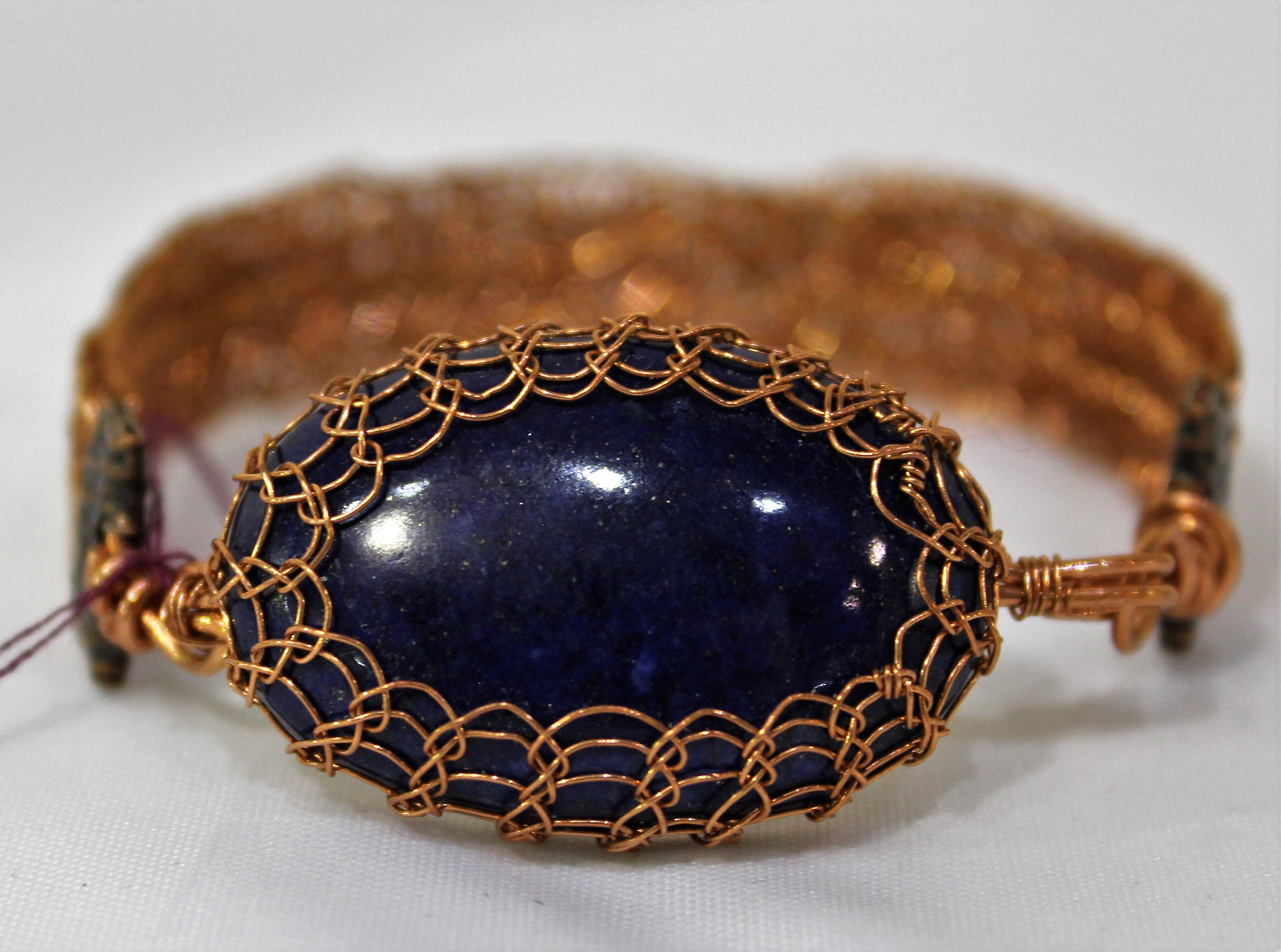 Lapis Bracelet, by Lucy Young