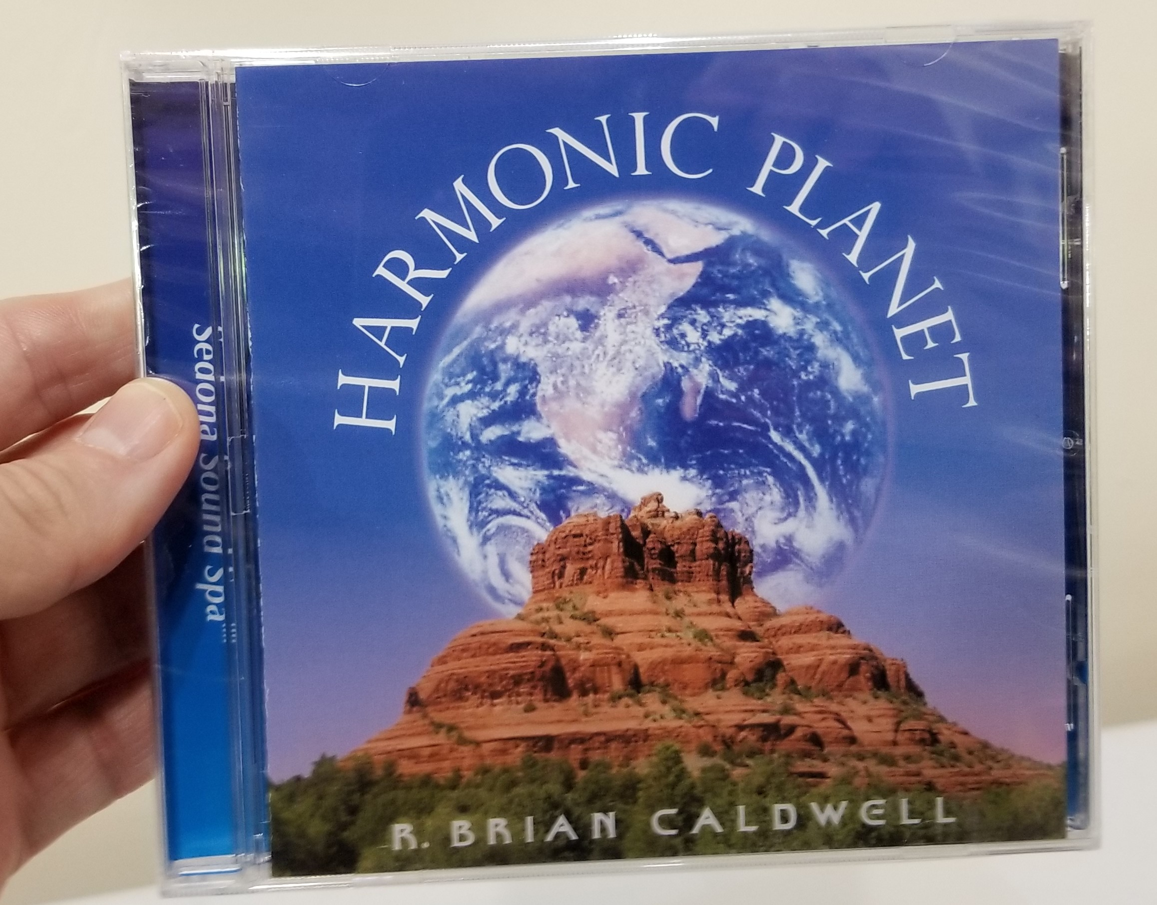 Harmonic Planet CD by Brian Caldwell