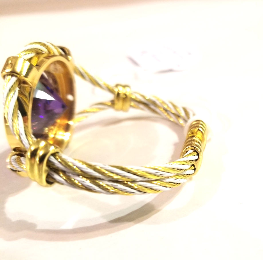Amethyst Bracelet, by Barbie Edwards