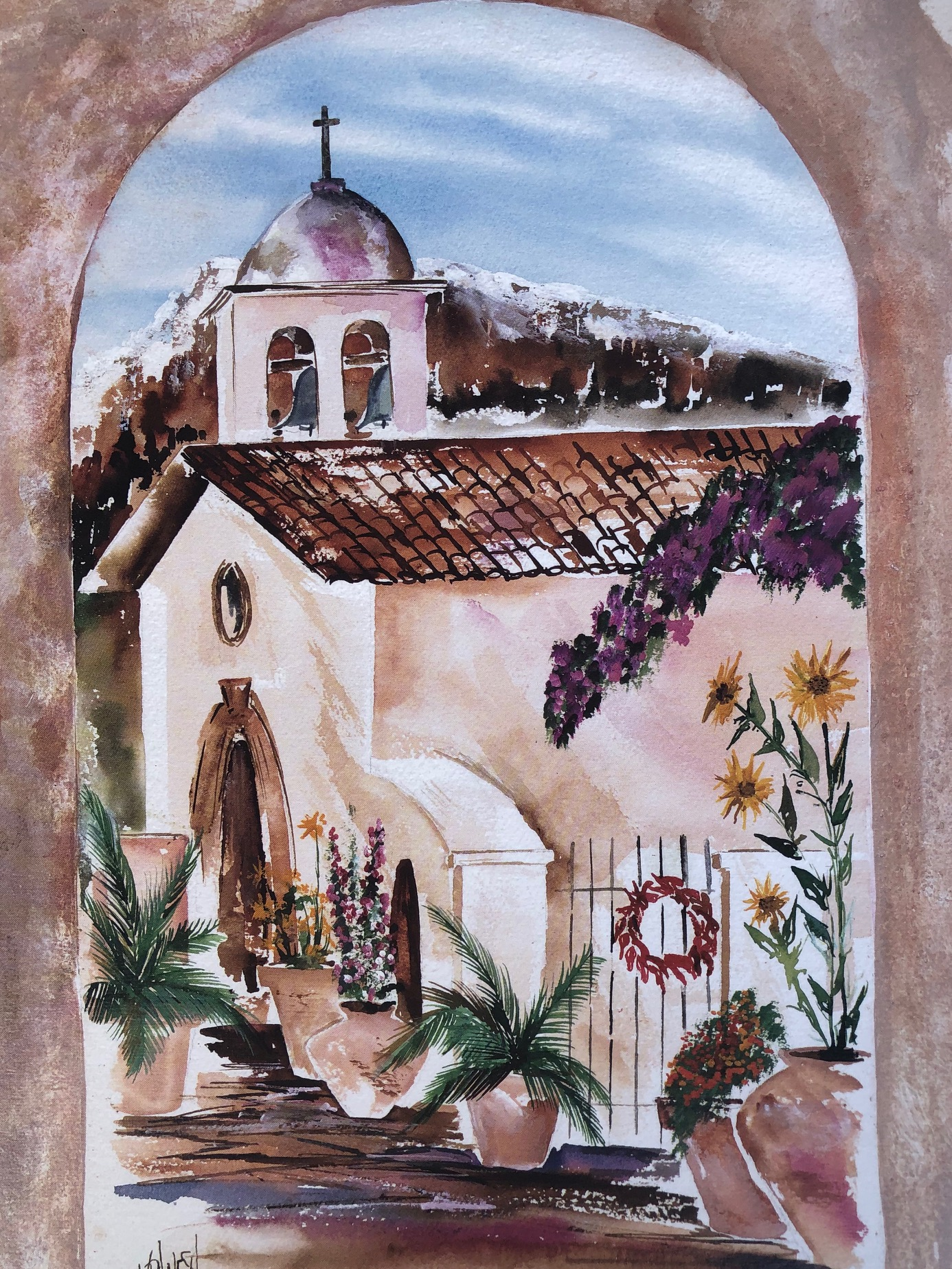 Tlaquepaque Village chapel, by Mark Vranesh