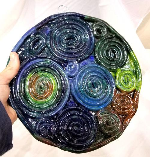 Handmade Ceramic Plate by Brenda Clark