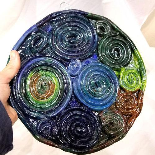 Handmade Ceramic Hanging Plate