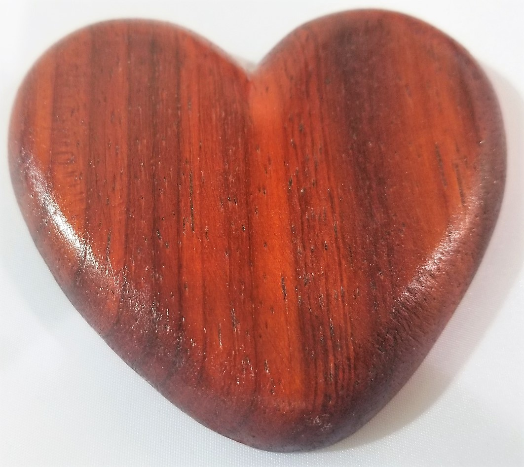 Wood Heart, by Ray Jonas