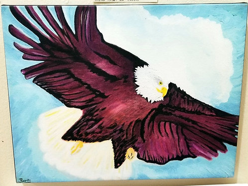 """""""Freedom"""" Giclee on Canvas"""