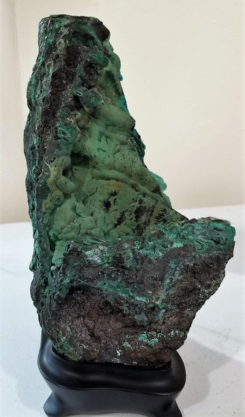 Free-Form Malachite, by Arizona Agate
