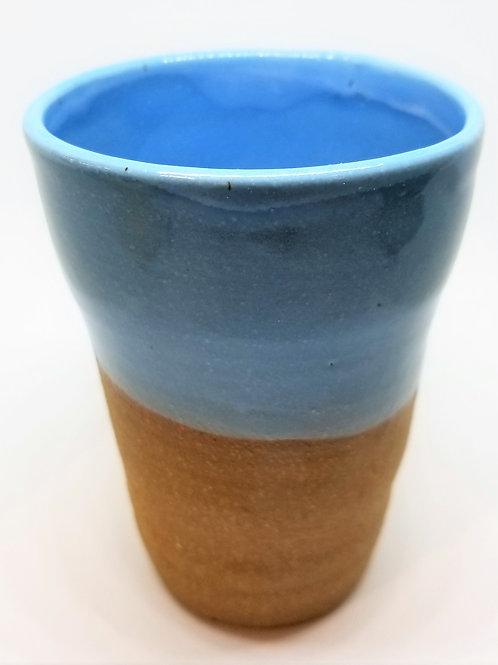 Blue Ceramic Tumbler