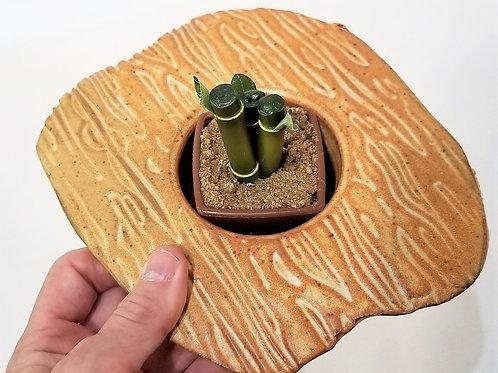 Stoneware Ikebana Planter
