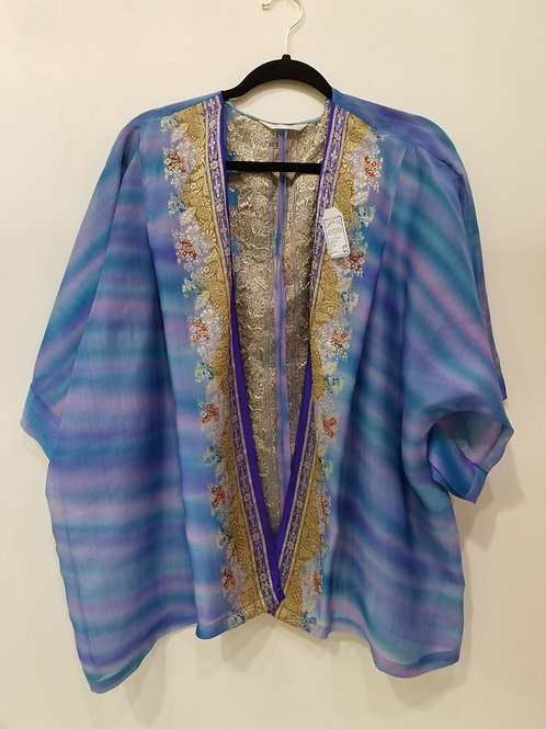 Blue Silk Jacket