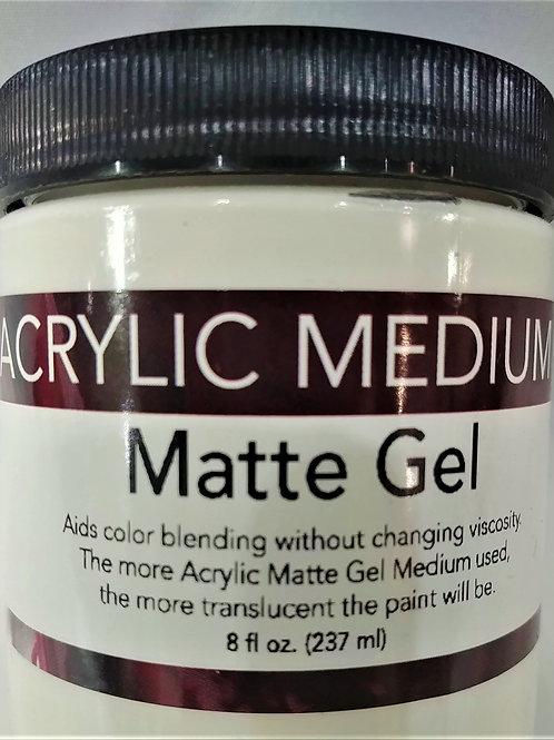 Acrylic Medium- Matte Gel 8 fl oz