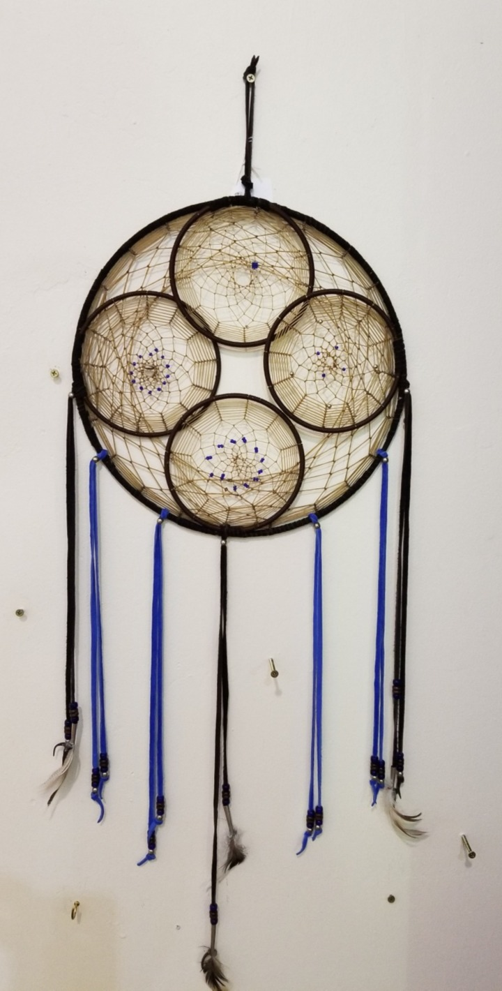 Handmade Dreamcatcher, by Chuck and Virginia Cagley