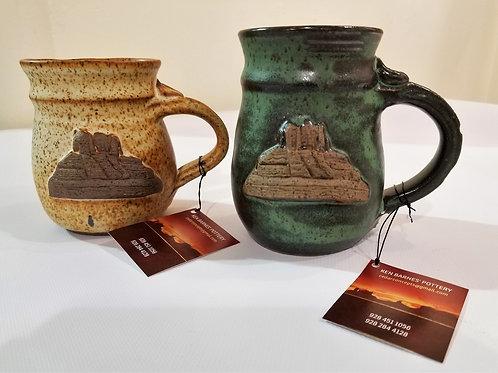 Stoneware Mug with Bell Rock Motif