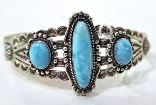 Larimar Cuff by Gary James