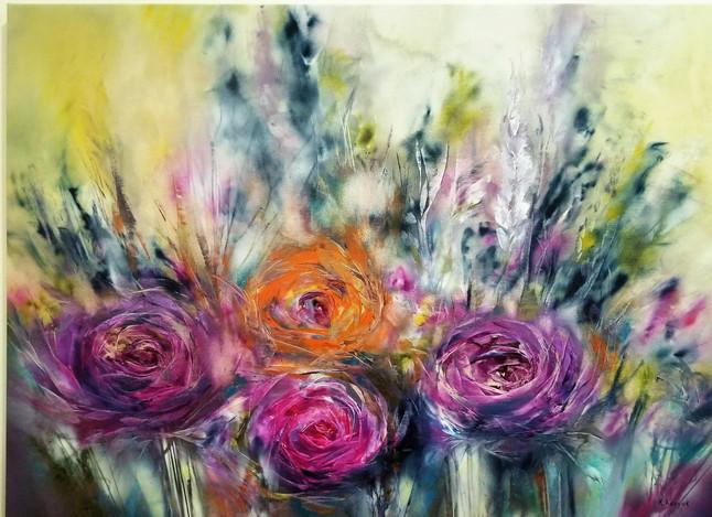 Khrystyna Kozyuk: Bold Oil Paintings