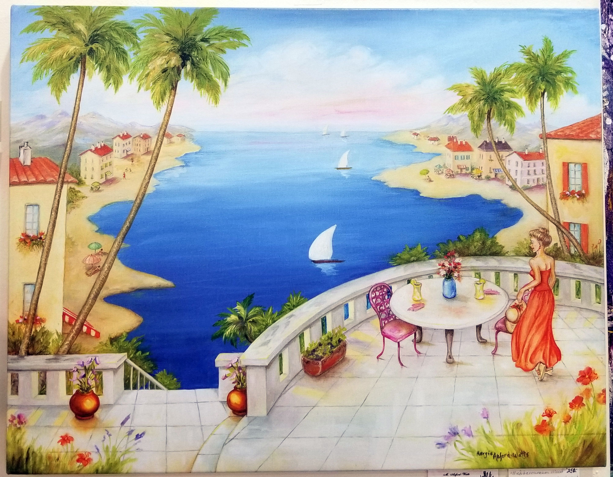Mediterranean Mood, by Margie Axford-Watts