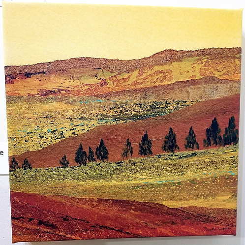 """Arizona Landscape""(1) Archival Giclee on Canvas"