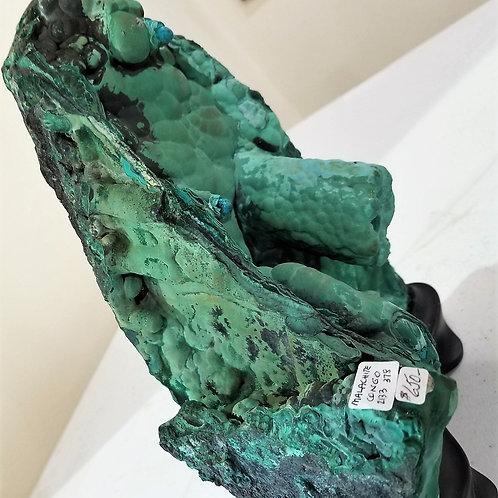 Free-Form Malachite with Custom Base
