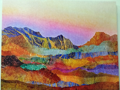 """Arizona Landscape""(2) Archival Giclee on Canvas"