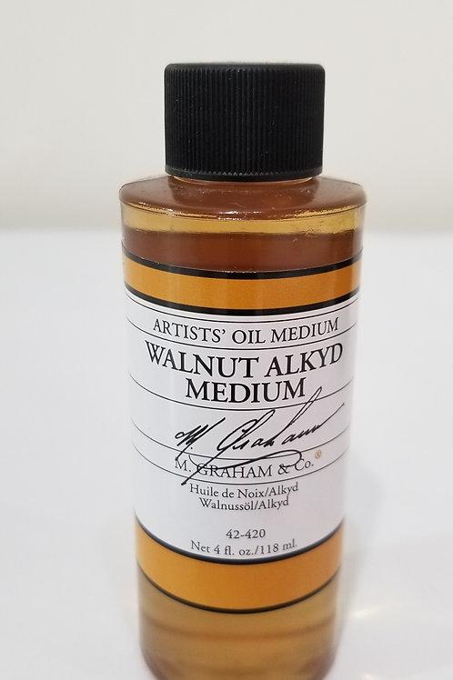 Graham Walnut Alkyd Medium 4 fl oz