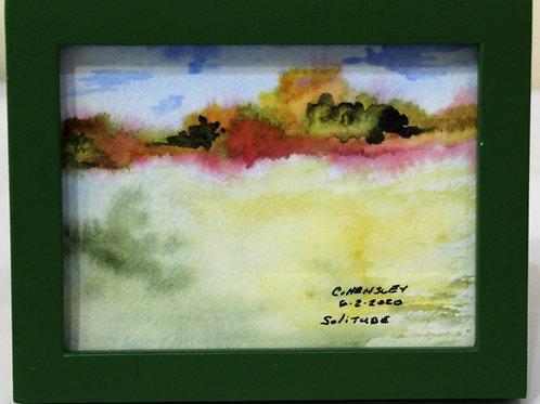 """""""Solitude"""" Watercolor"""