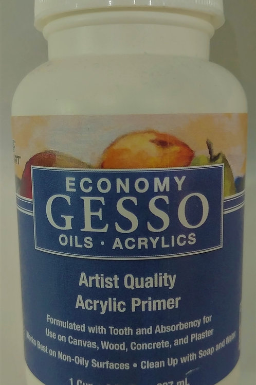 Gesso for Oils and Acrylics 8 fl oz